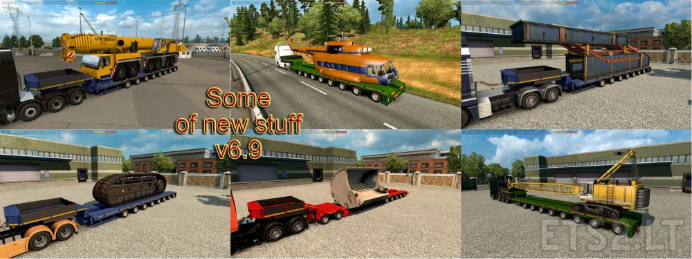 Trailers and Cargo Pack by Jazzycat v 6 9 | ETS 2 mods