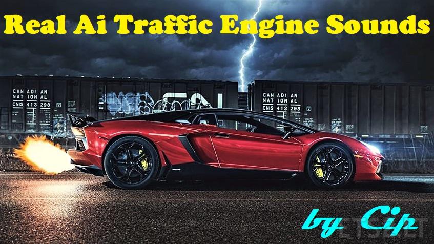 Real Ai traffic engine sounds mod v1 1: | ETS 2 mods