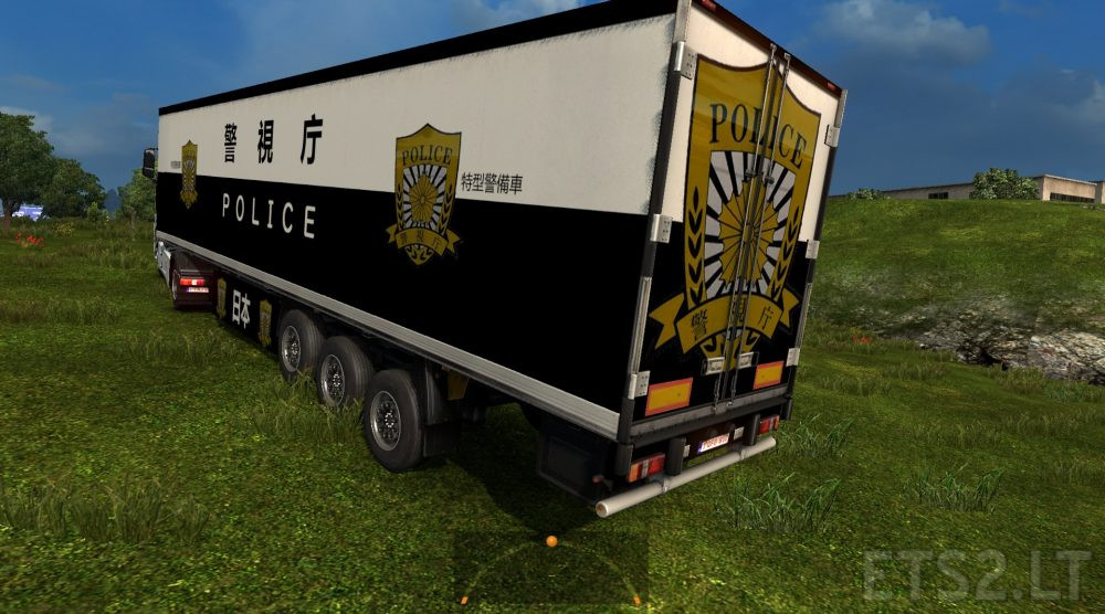 Police Car Website >> Japan Police Trailer Inspired To Police Car Ets 2 Mods