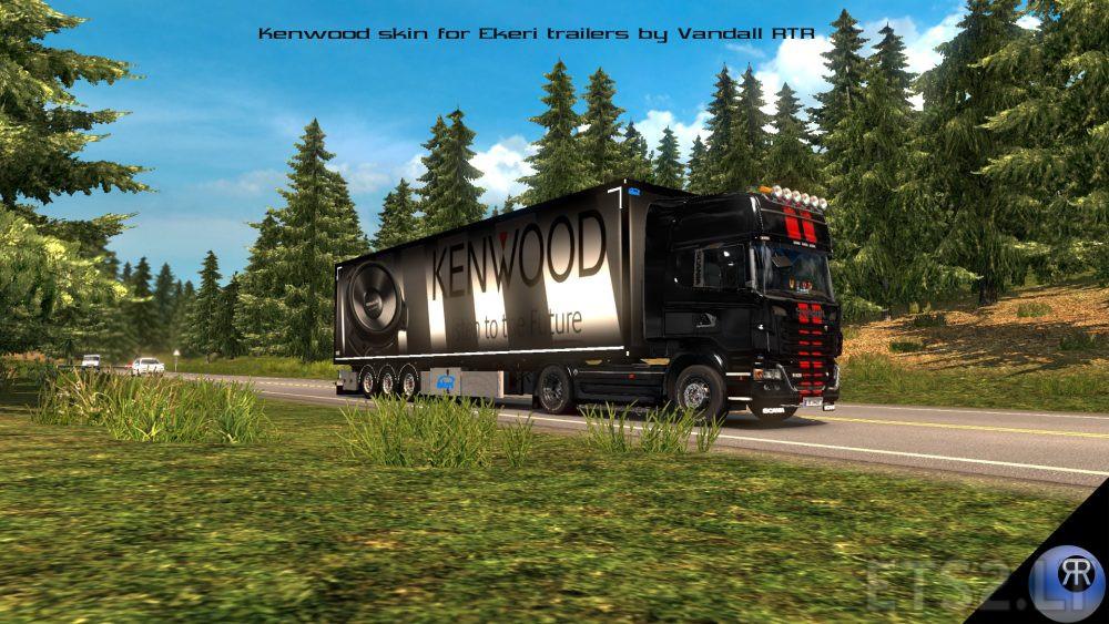 Kenwood Skins for Ekeri Trailers | ETS 2 mods