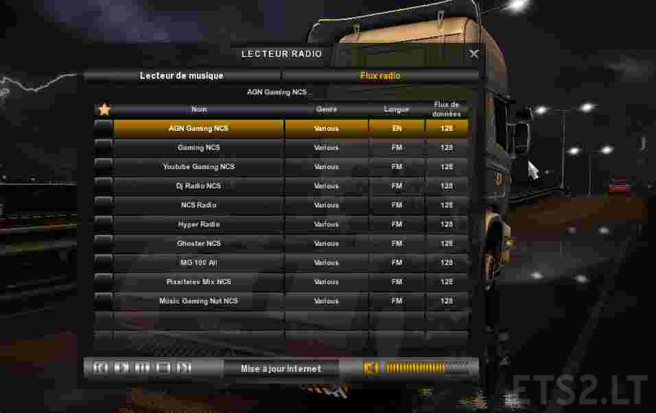 Radio Gaming NCS v0 0 2 For ATS & ETS2 – MultiPlayer