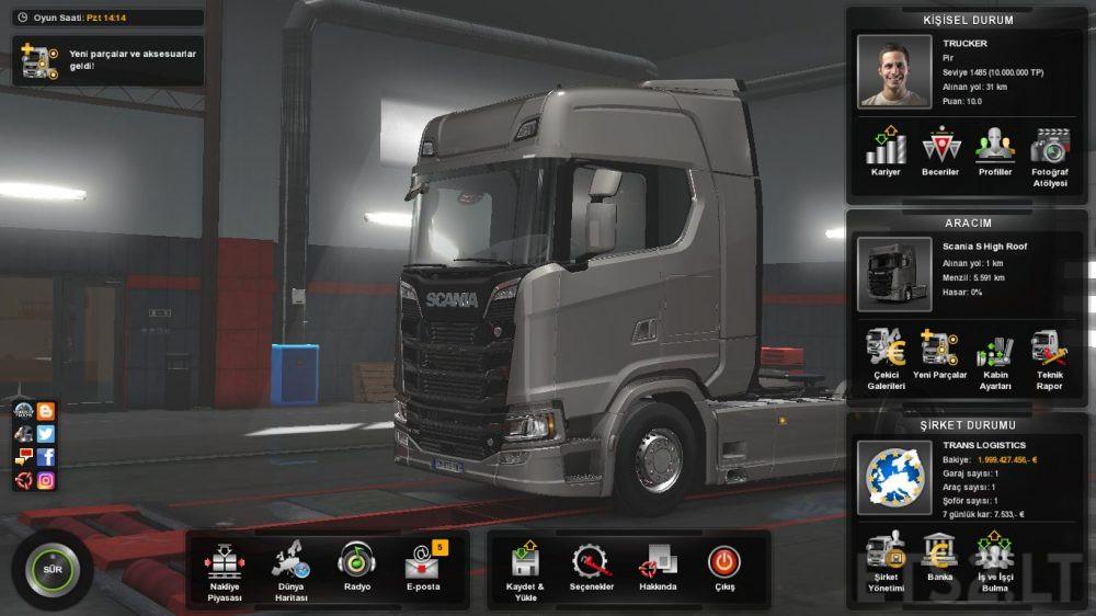 euro truck simulator 2 crack 1.3 1