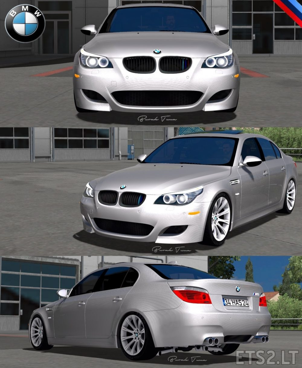 Bmw 5 Series E60 Pack 1 31 Fix Ets2 Mods