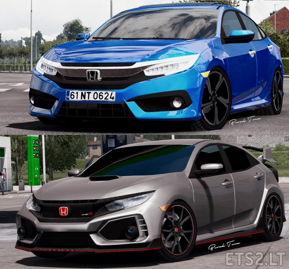 2017 Honda Civic typeR | Civic Fc5 | 1 31 Fix | ETS 2 mods