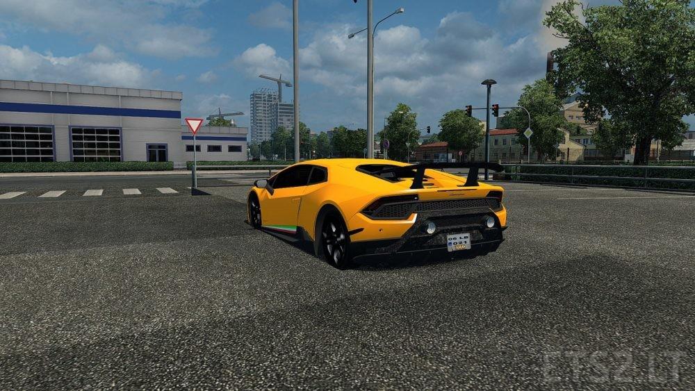 Lamborghini Huracan v 2 0 | ETS 2 mods