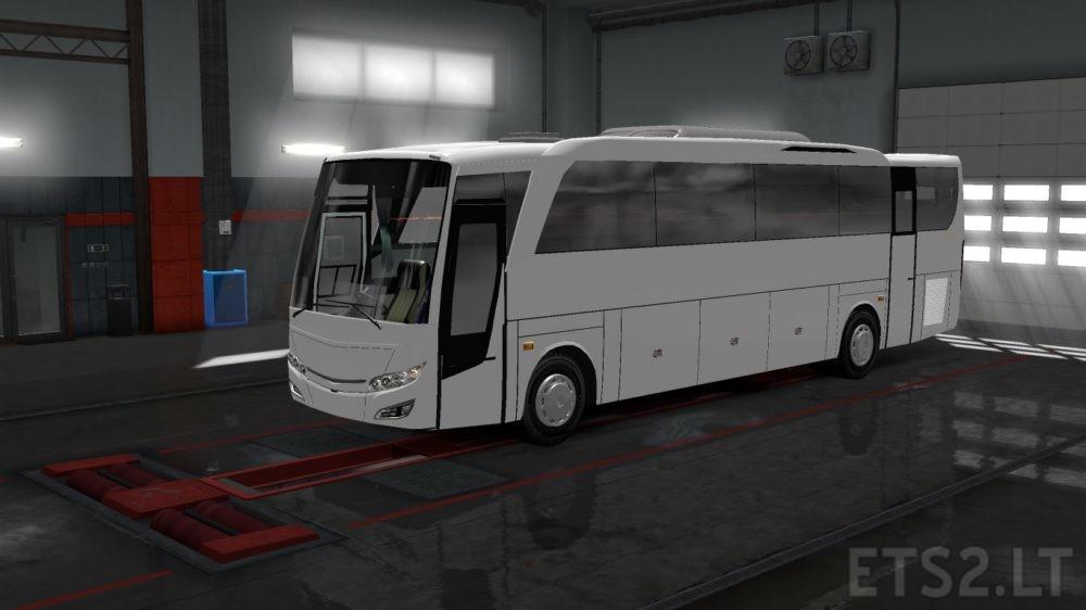 Bus Intercooler 1521 Rombak Jahat | ETS 2 mods