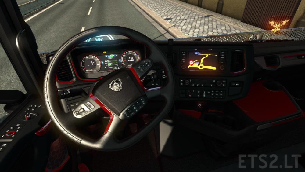 Scania Custom Interior