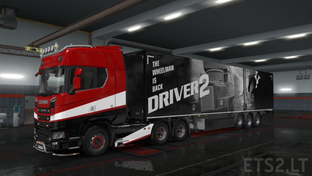 Driver 2 Trailer Skin