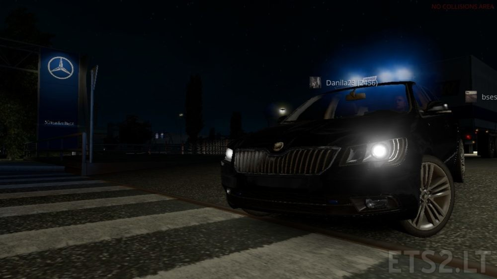 Police Profile Full Save 1 31 x | ETS 2 mods