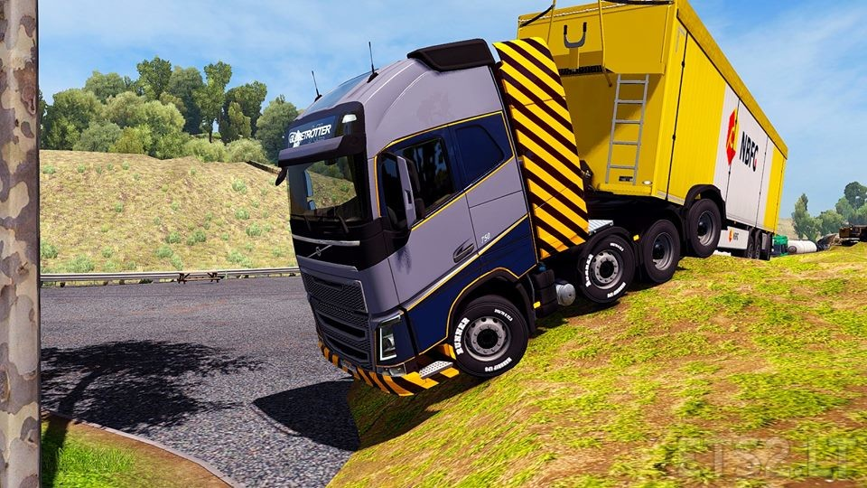Realistic Graphics Sweet FX Mod v 1 6 YANRED | ETS 2 mods