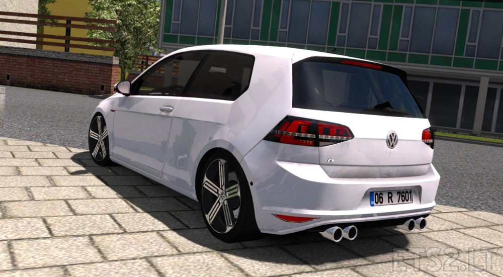 volkswagen golf 7 r line ets 2 mods. Black Bedroom Furniture Sets. Home Design Ideas