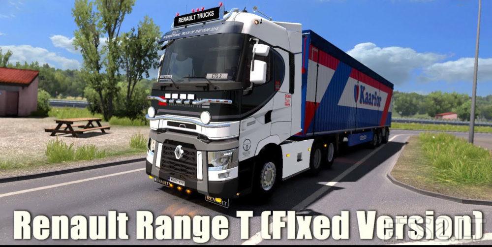 Renault Range T fixed 1 32 x | ETS 2 mods