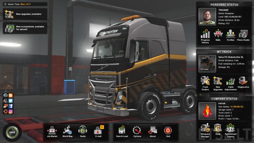 Euro Truck Simulator 2 1 32 Save | ETS 2 mods