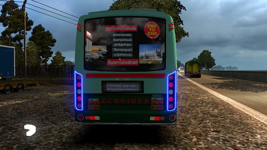 skin bus | ETS 2 mods - Part 10