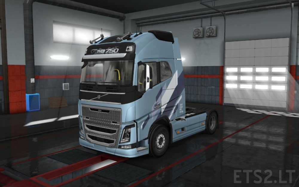 volvo fh16 reworked | ETS 2 mods