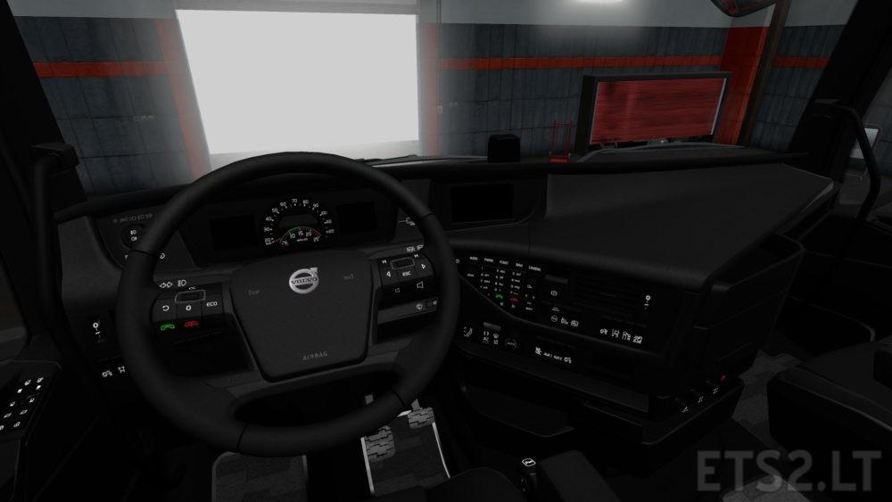 Volvo fh interior