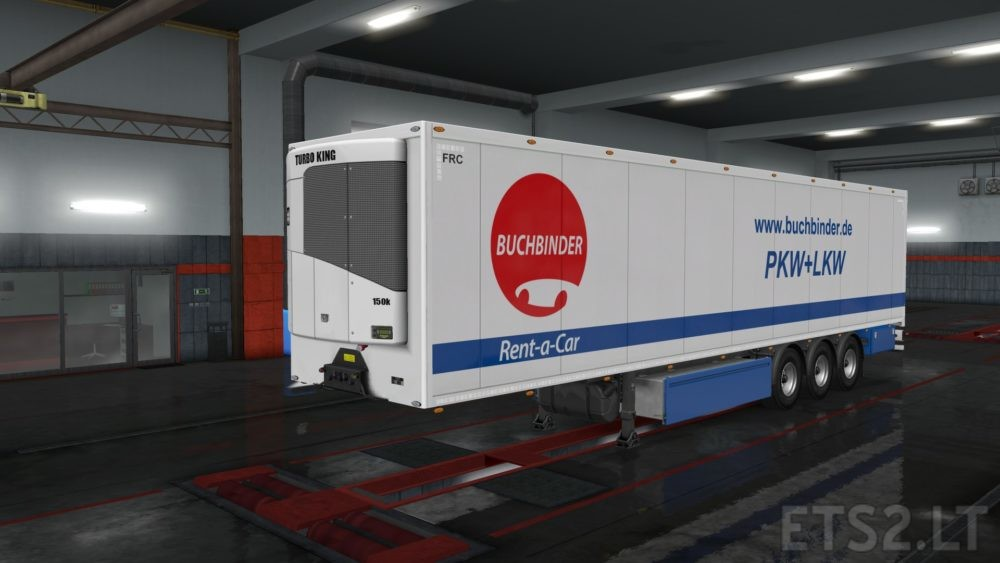 Skin Pack for owned Trailer (standard scs-box) | ETS 2 mods