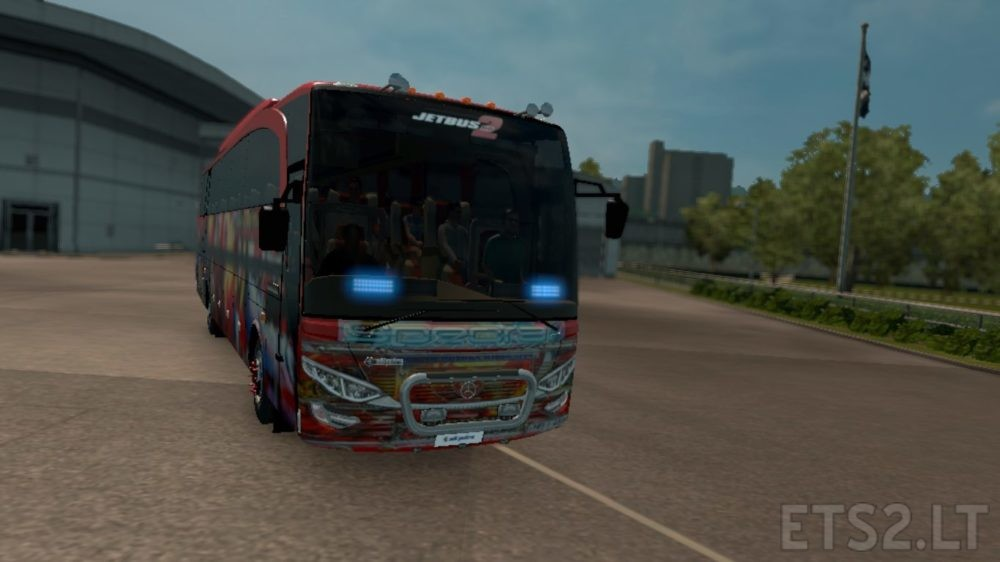 Duburu Lamissi Jet Bus Skin Sri Lanka | ETS 2 mods