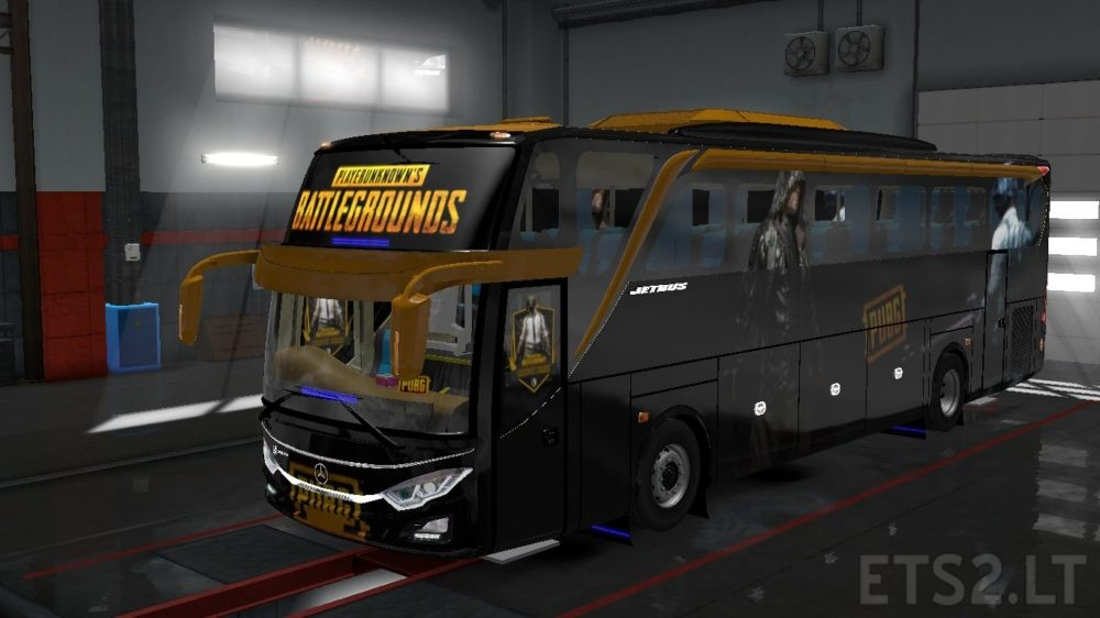 Indonesia Jetbus 3 Hdd Bus Pubg Skin Ets 2 Mods
