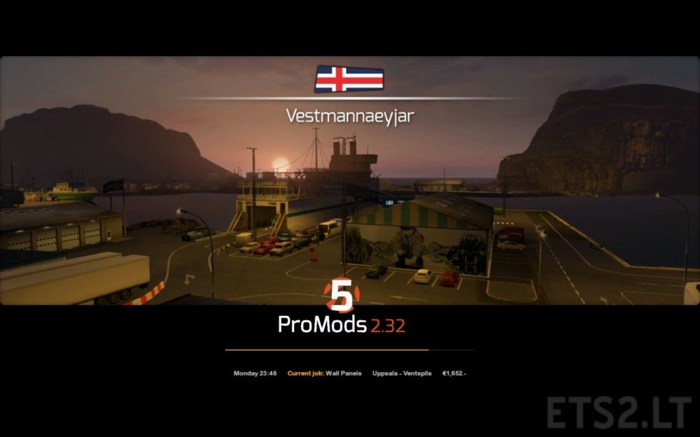 ProMods 2 32 Profiles for 1 33 | ETS 2 mods