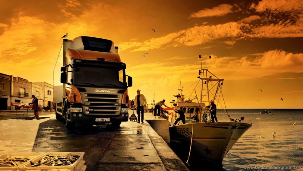 842052awesome Orange Scania Truck Wallpapers Pc1920x1080h