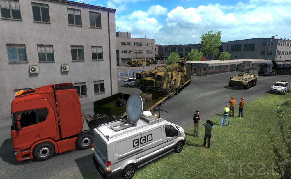 oversize | ETS 2 mods