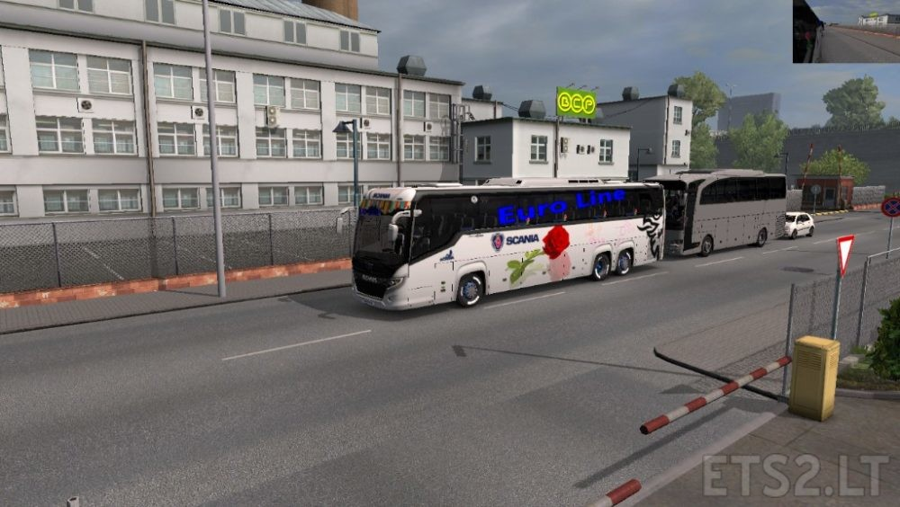 Scania Touring Bus 2019   ETS 2 mods