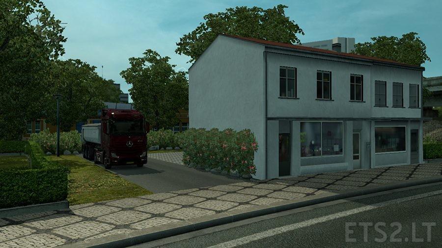 Simple House Mod – Amsterdam   ETS 2 mods