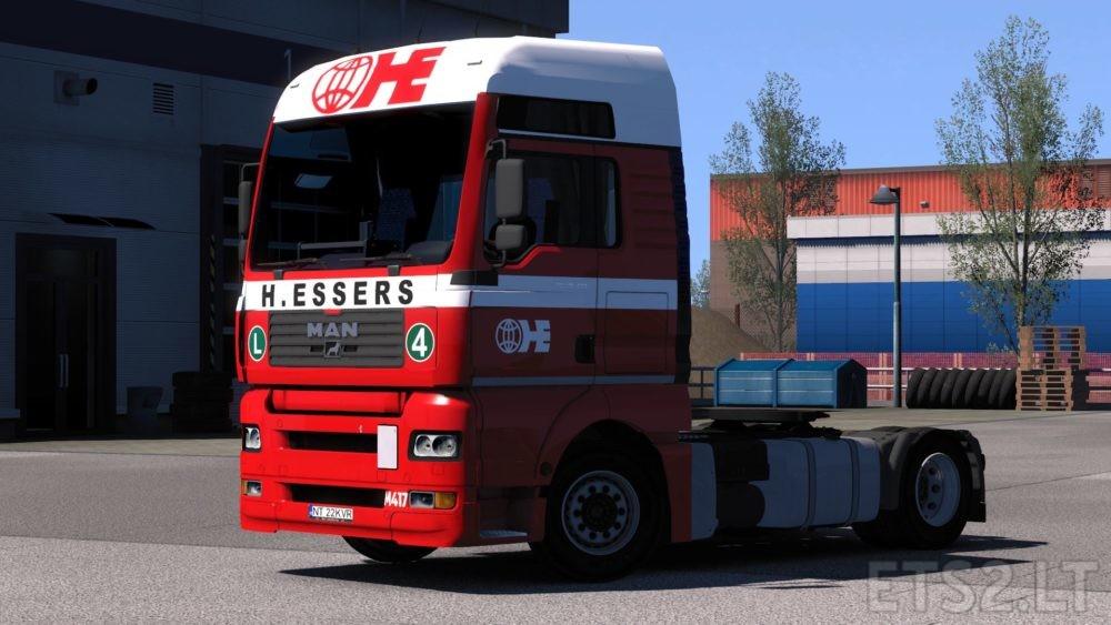 Truck Skins | ETS 2 mods - Part 7