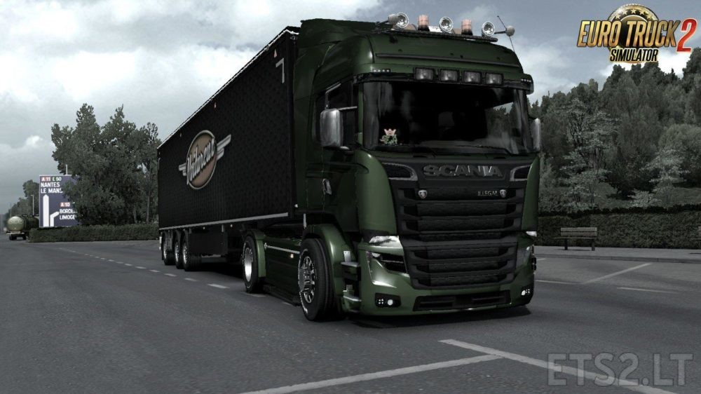 Scania 50k Gearbox | ETS 2 mods