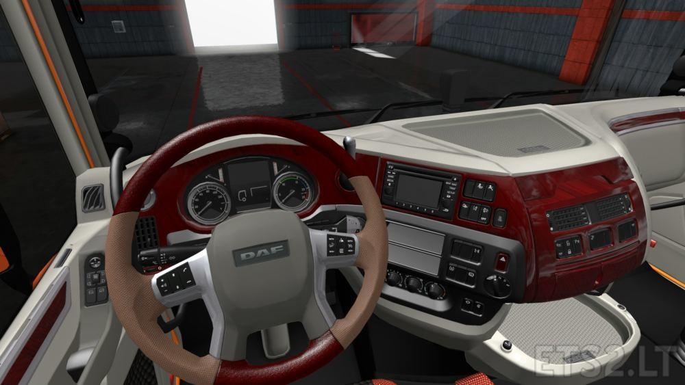 daf interior   ETS 2 mods - Part 6