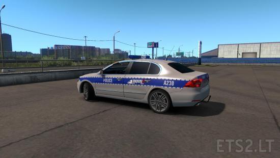 police siren | ETS 2 mods