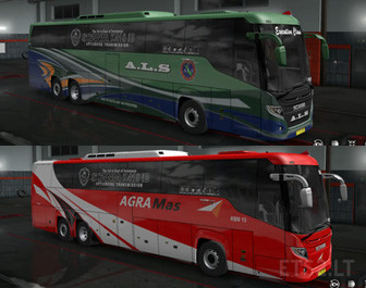 Bus Indonesia Skinpack I Scania Touring Ets2 Mods