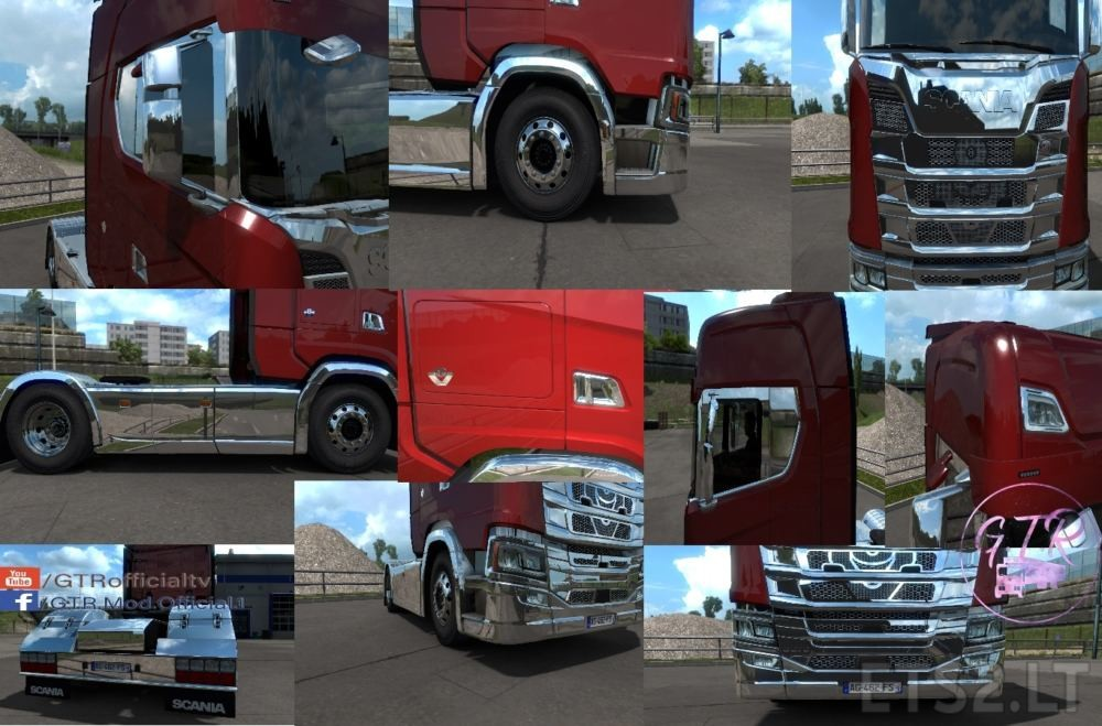 scania accessories | ETS 2 mods