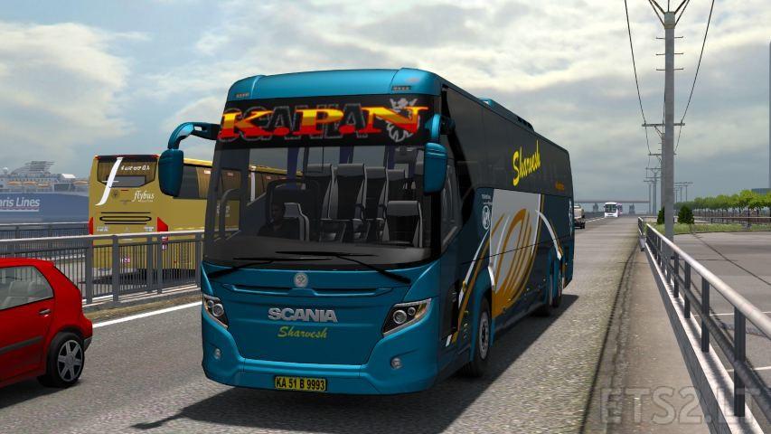 Scania Touring skin   ETS 2 mods