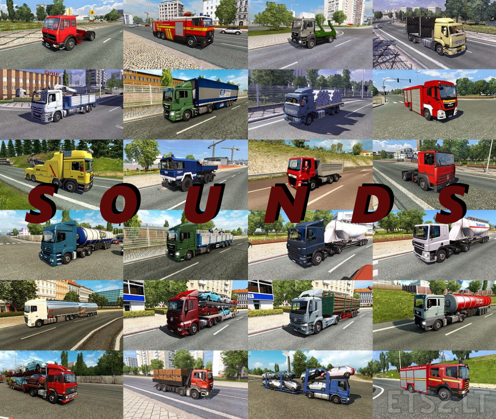 Old Trucks AI Engine Sounds for Jazzycat Truck Pack v 3 5