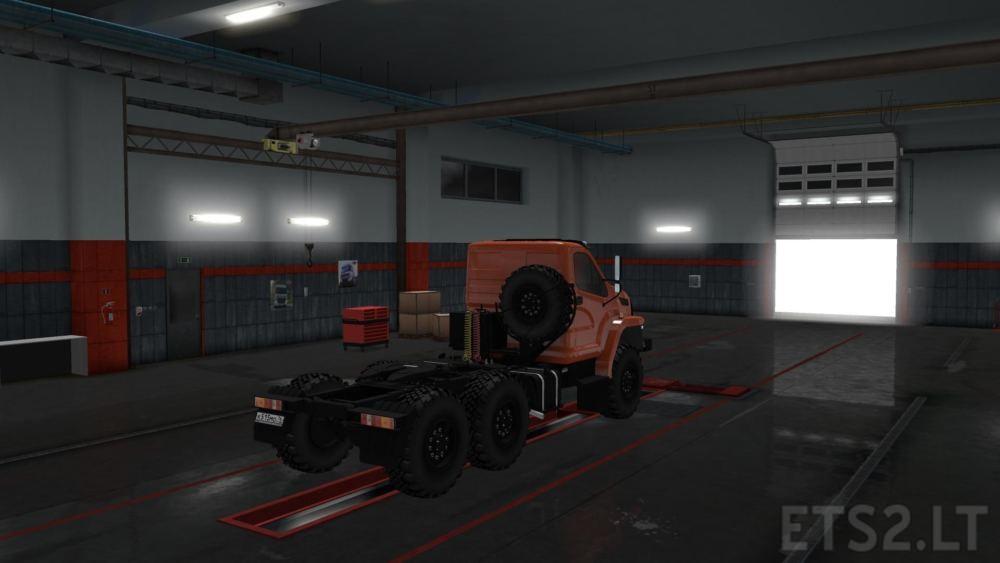 Ural Next 1 34 x | ETS 2 mods