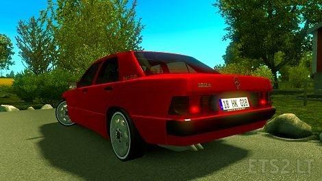 Mercedes 190E W201 1 35 | ETS 2 mods