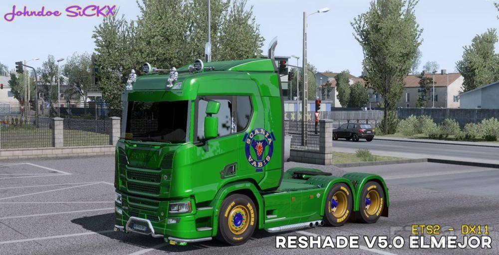 RESHADE | ETS 2 mods