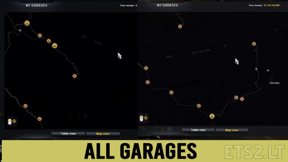 Garage Ets 2 Mods
