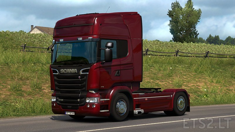 Scania R & Streamline Modifications v 2 2 4 for ETS2 version