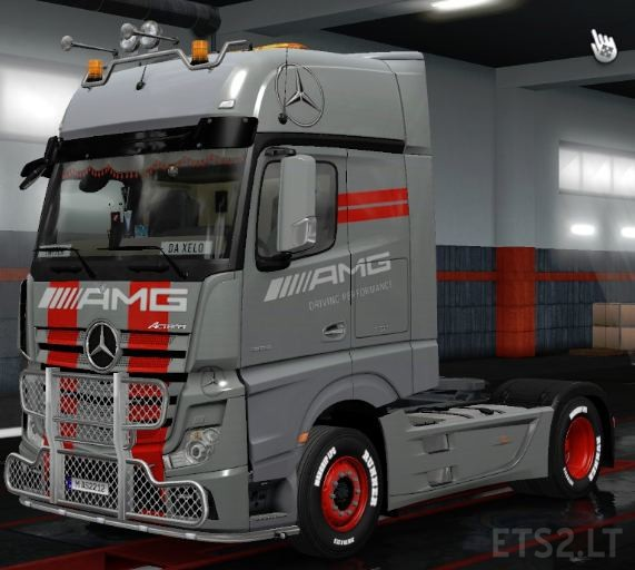 Mercedes Benz Actros MP4 AMG Tuning Mod 1 35 | ETS 2 mods