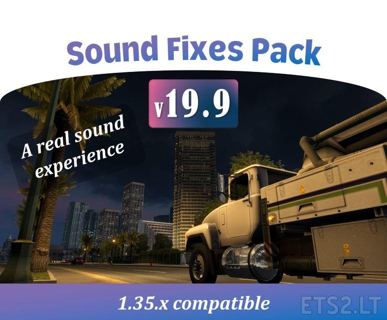 Sound Fixes Pack v 19 9 | ETS 2 mods