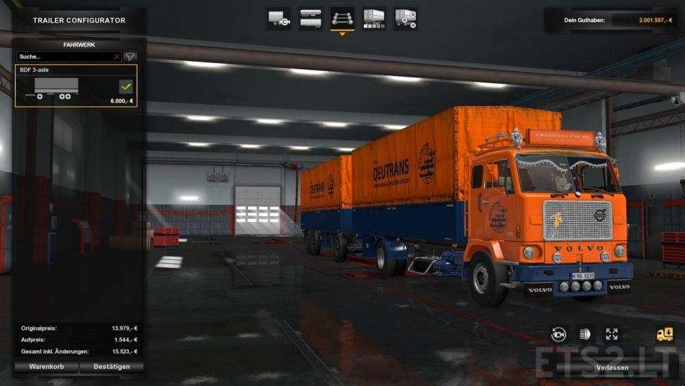 Volvo F88 | ETS 2 mods