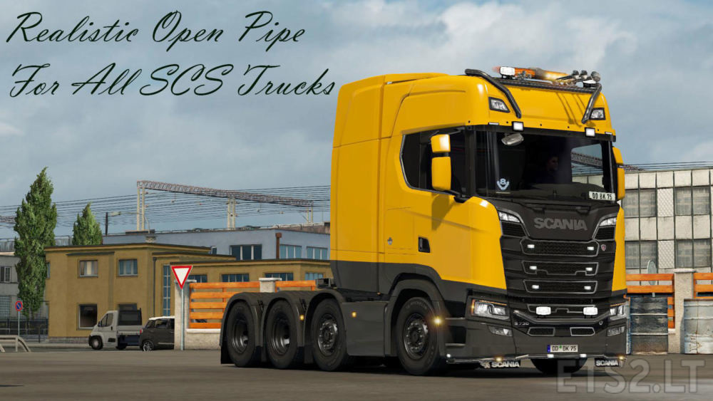 open pipe | ETS 2 mods