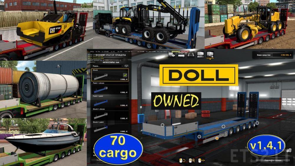 doll trailer | ETS 2 mods