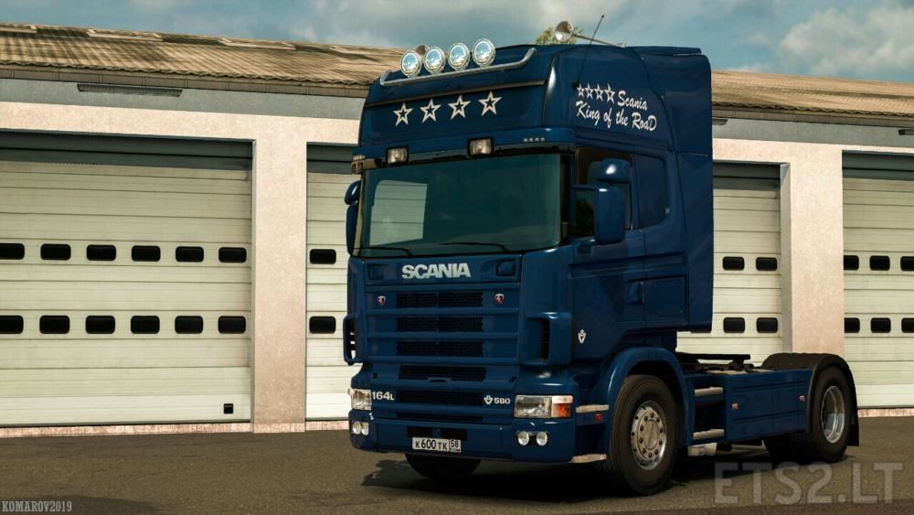 Scania King of the Road Skin | ETS 2 mods