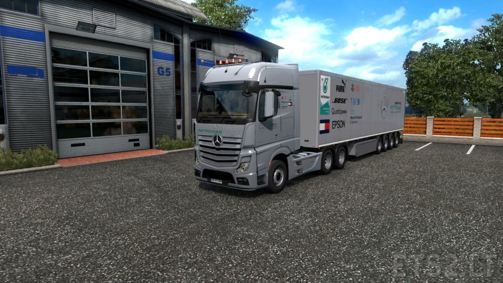 Mercedes F1 Team Trucks - Best Image Truck Kusaboshi Com