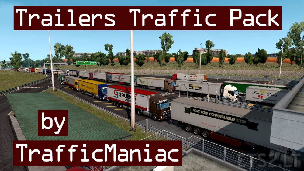trailer skin pack v2 | ETS 2 mods - Part 3