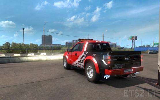 Ford F-150 SVT Raptor ETS2 1 35   ETS 2 mods